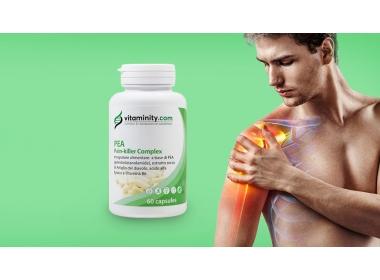 Vitaminity PEA-Pain Killer e uccidi il dolore in modo naturale