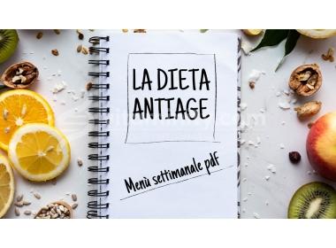 Come rallentare l'invecchiamento con la dieta anti-age