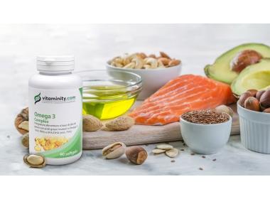 Integratore Omega-3 Complex Vitaminity: un concentrato di acidi grassi buoni