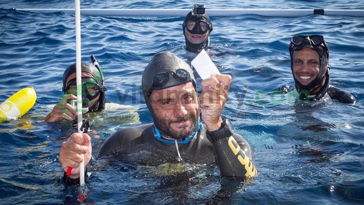 Intervista al campione italiano di apnea Homar Leuci